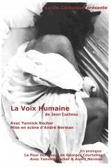 La voix humaine - Mise en scène André Nerman