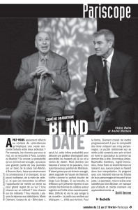 pariscope Blind date